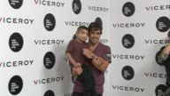 Fernando Alonso and Uno Entre Cien Mil Foundation present a charity bracelet by Viceroy to fight against children Leukemia at Munreco Group...