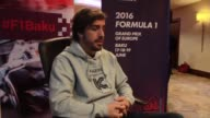 Fernando Alonso has hailed the Baku City Circuit as the worlds fastest saying it promised to be the most memorable race on the 2016 Formula 1 calendar
