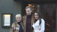 CLEAN Fernando Peire Miranda Richardson Samantha Barks Jack Fox at 100 Years of The Ivy Photocall on January 17 2017 in London United Kingdom