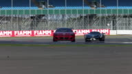 Ferrari 599XX and FXX Corse Clienti at Silverstone race track England