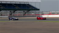 Ferrari 599XX No27 45 at Silverstone racetrack England