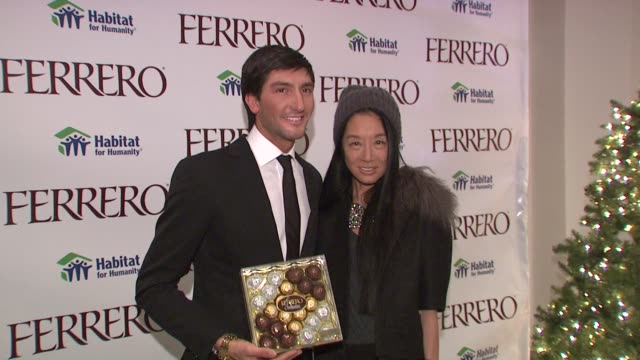 Ferrero Chocolates and Evan Lysacek Fashion Event New York NY United States
