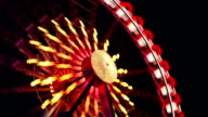 Ferris Wheel at Carnival - Time Lapse
