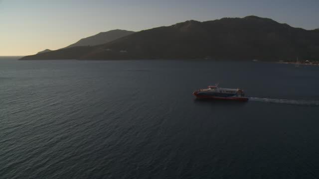 Ferry at Tilos Island.