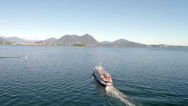 Ferry Boat on Lake Maggiore