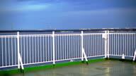 Ferry open deck