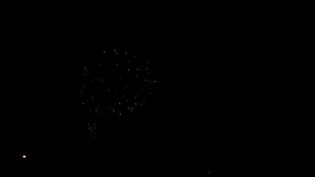 Festliche Farbe Feuerwerk Hintergrund.