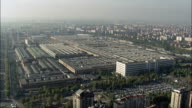 Fiat Factory  - Aerial View - Piedmont, Turin, Torino, Italy