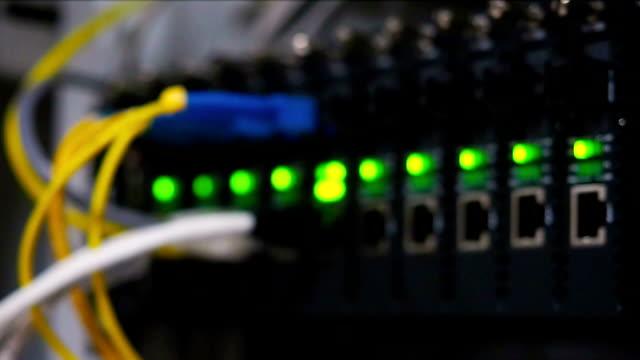 Glasfaser-Netzwerk