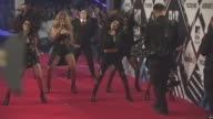 Fifth Harmony at MTV Europe Music Awards on October 25 2015 in Milan