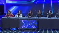 INTERVIEW Fifth Harmony Dinah Jane Hansen Lauren Jauregui Ally Brooke Normani Hamilton Camila Cabello on the production schedule at The XFactor...