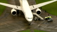 Fighter jets scrambled following incident on PIA passenger aircraft two men arrested ENGLAND Essex Stansted shots Pakistan International Airways PIA...