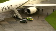 Fighter jets scrambled following incident on PIA passenger aircraft two men arrested ENGLAND Essex Stansted Airport Pakistan International Airways...