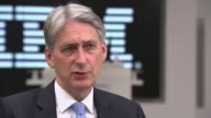Economy grew by 03 per cent in second quarter London IBM Philip Hammond MP visiting IBM Philip Hammond MP interview SOT We've always recognised that...