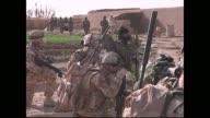 File footage of British troops in Afghanistan Kabul Afghanistan