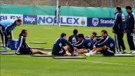 File images of the Argentinean national football team which will compete next June and July in Brazils 2014 World Cup CLEAN File images of Argentina...