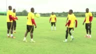 File images of the Ghana national football team which will compete next June in Brazil's 2014 World Cup CLEAN File images of the Ghana on December 03...