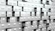 Filing cabinets wall