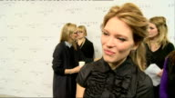 24th James Bond film to be called 'Spectre' Cast unveiled Seydoux interview SOT on spending time with Daniel Craig / no competition with Monica...