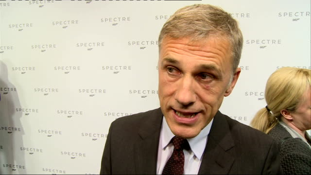24th James Bond film to be called 'Spectre' Cast unveiled Waltz interview SOT talks about growing up with Bond / Christoph Waltz interview SOT on...