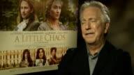 'A Little Chaos' Kate Winslet and Alan Rickman junket interviews Alan Rickman interview SOT
