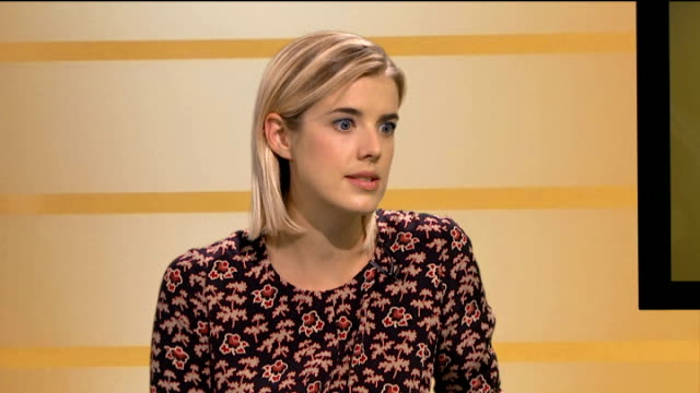 Agyness Deyn stars in new film 'Pusher' Deyn interview SOT
