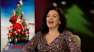 'Arthur Christmas' junket interviews Sarah Smith interview SOT On the use of 3D in the film / a spinoff themepark ride based on the sleigh action...