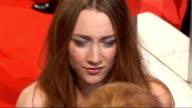 red carpet arrivals ENGLAND London Covent Garden EXT / NIGHT Long shot Cilla Black arriving with Nigel Lythgoe General views Saoirse Ronan...