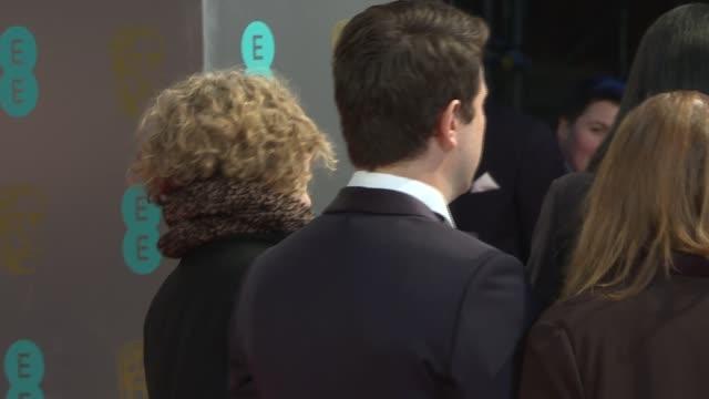 red carpet arrivals BAFTA Film Awards 2017 red carpet arrivals NIGHT Art Parkinson and Travis Knight on red carpet / Viola Davis on red carpet /...