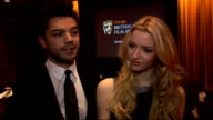 BAFTA Film Awards 2011 nominations announced Corrie speech SOT / Dominic Cooper and Talulah Riley interview SOT On being pleased with nominations...