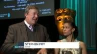 BAFTA nominations 2016 ENGLAND London INT Stephen Fry interview SOT