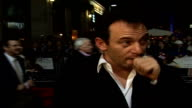 'Bobby' premiere at London Film Festival Arrivals and interviews Jason Isaacs interview on red carpet SOT On London Film Festival in comparison with...