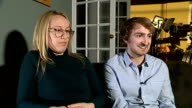 British duo nominated for Oscar for animated short film Hees interview SOT Need huge amount of space and paint Jacobs interview SOT 3km of masking...