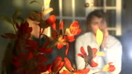 British duo nominated for Oscar for animated short film Jacobs and Hees sitting in room with flowers in foreground Hees interview SOT Brother's...
