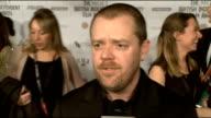 British Independent Film Awards 2012 arrivals Elle Fanning Alice Englert red capet interview SOT Paul Andrew Williams red capet interview SOT...