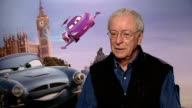 'Cars 2' junket interviews John Lasseter Michael Caine and Jason Isaacs Michael Caine interview SOT On voicing animation whether it is more difficult...