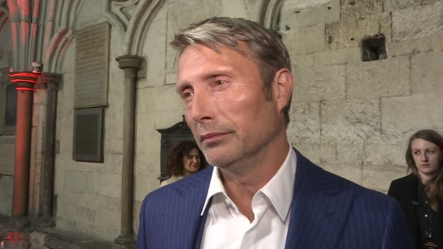 'Doctor Strange' premiere red carpet and interviews General views Benedict Cumberbatch and Mads Mikkelsen Mads Mikkelsen interview SOT Tilda Swinton...