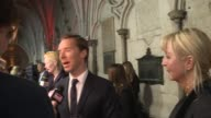 'Doctor Strange' premiere red carpet and interviews Tilda Swinton on red carpet Benedict Cumberbatch interview SOT