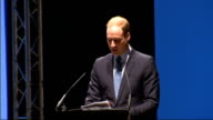 Duke and Duchess of Cambridge and Prince Harry visit Warner Brothers studios highlights Josh Berger welcome speech SOT Barry Meyer introduces Duke of...