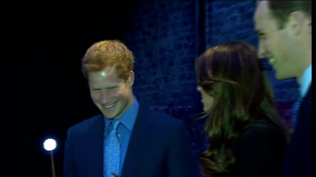Duke and Duchess of Cambridge Prince Harry and JK Rowling visit Warner Brothers studios ****FLASH ENGLAND Hertfordshire Warner Brothers Studio INT...