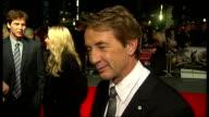 'Frankenweenie' premiere NIGHT Martin Short speaking to press and interview SOT Martin Landau speaking to press Tim Burton interview SOT