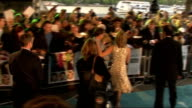 'Horrible Bosses' premiere celebrity arrivals High angle view of Aniston speaking to press **Music heard SOT** PHOTOGRAPHY** Back views of Aniston...
