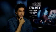 Interview with David Schwimmer about 'Trust' ENGLAND London INT David Schwimmer interview SOT On wanting it to be truthful / On sex in our culture No...