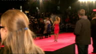 Jack Ryan Shadow Recruit Film premiere arrivals NewmanYoung and Hull on red carpet / Amy Willerton posing on red carpet