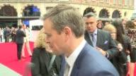 Jason Bourne premiere Red carpet interviews **Music heard SOT** Red carpet / Alicia Vikander chatting to press / Matt Damon chatting to press Matt...