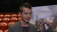 Miss Peregrine's Home For Peculiar Children Cast interviews Finlay Macmillan interview SOT / Asa Butterfield interview SOT on films he has been...