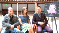 'Much Ado About Nothing' interviews ENGLAND London The Globe Theatre EXT Joss Whedon interview SOT / Amy Acker interview SOT / Alexis Denisof...