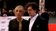 National Movie Awards 2010 red carpet arrivals Sam Taylor Wood and fiance Aaron Johnson arrival and interview SOT On award shows Aaron you just have...