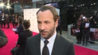 'Nocturnal Animals' red carpet interviews Tom Ford interview SOT re new film 'Nocturnal Animals' Amy Adams along / Aaron TaylorJohnson on red carpet...