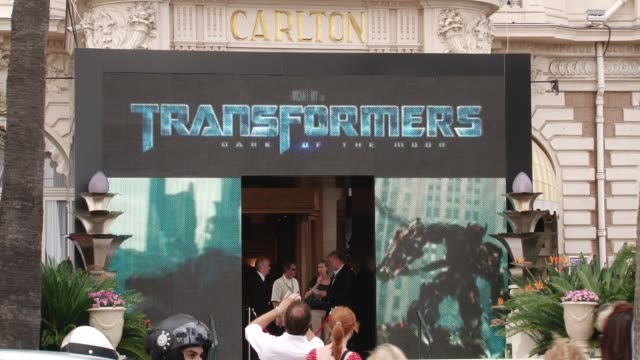 Film opening in Cannea Quintessentially Cannes Footage on May 25 2011 in Cannes France